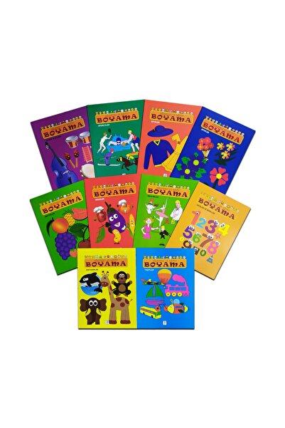 Sis Yayıncılık Eğlenceli Eğitici Boyama Seti 10 Kitap