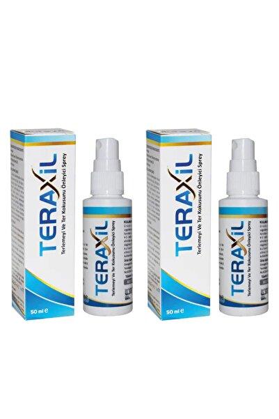 Teraxil El, Ayak, Koltuk Altı Terleme ve Ter Kokusu Önleyici Sprey Deodorant Antiperspirant Unisex 2 Adet