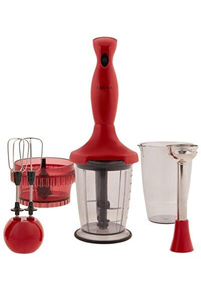 Karaca Maximix Blender Set Retro Kırmızı