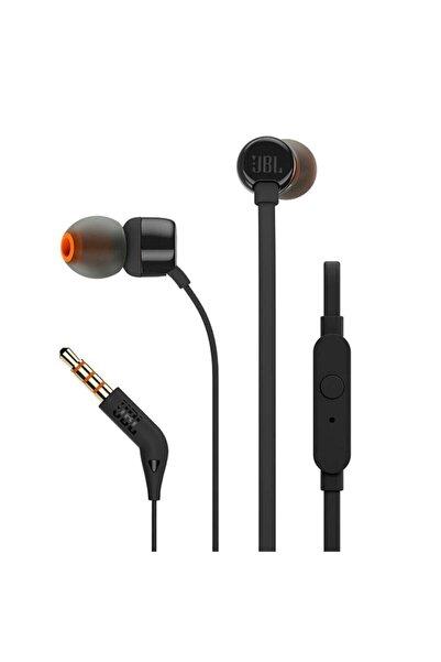 JBL T110 Siyah Kablolu Kulak Içi Kulaklık
