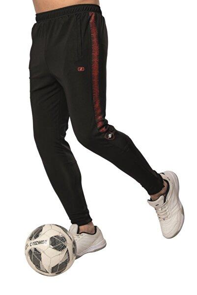 Crozwise Polyester Dalgıç Dar Paça Erkek Antrenman Pantolonu