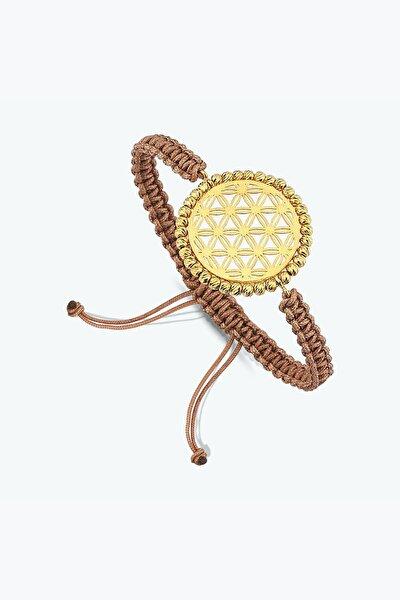 Altınbaş Kadın 22 Ayar Altın Yaşam Çiçeği Bileklik BLSK0480-24875