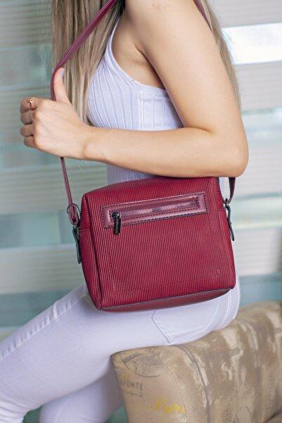 Limoya Bags Kadın Kırmızı El Ve Omuz Çantası