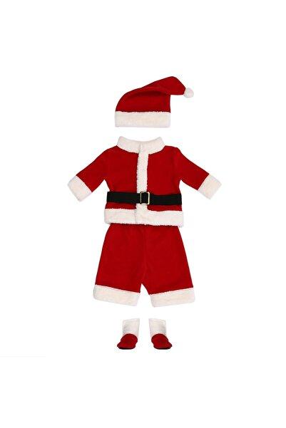 Tülü Akkoç Noel Baba Noel Bebek Yılbaşı Kostümü