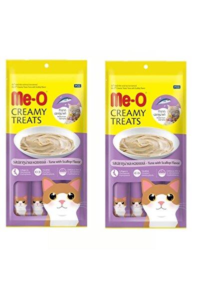 Trixie Me-o Creamy Deniz Tarağı Ve Ton Balıklı Kedi Ödülü 15gr 4lü 2adet