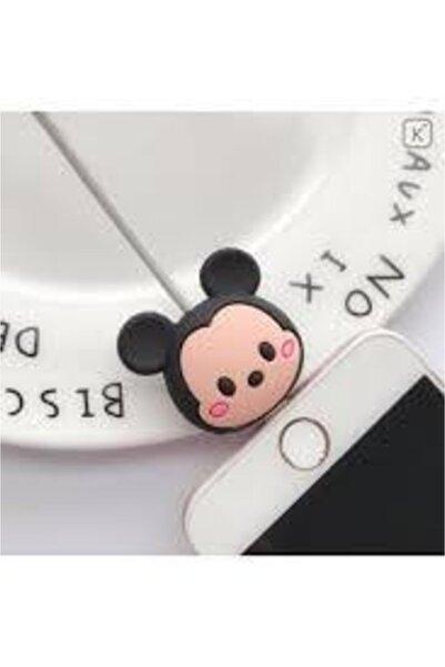Mickey Mouse My Mürdüm Sevimli Silikon Kablo Koruyucu Mickey Syamgzskk17
