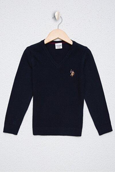 U.S. Polo Assn. Lacivert Erkek Çocuk Triko Kazak