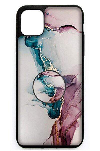 BK Design Iphone 11 Popsocketli Kılıf Epoksi & Silikon Arka Kapak A23