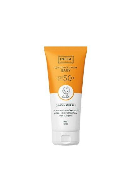 Incia Sunscreen Face And Body Cream Spf50+ Baby 100 Ml 8681511090784