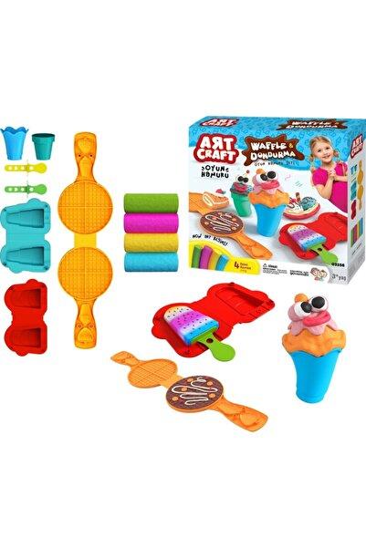 DEDE Toys Art Craft Waffle & Dondurma Oyun Hamuru Seti 200 Gr