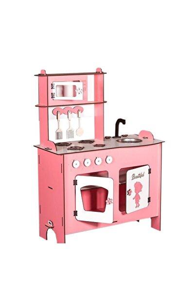 WoodyLife Ahşap Oyuncak Mutfak Seti Eğitici Montessori Oyuncak Mutfak Seti