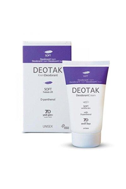 Deotak Hassas Ciltler Için Soft Krem Deodorant 35 Ml