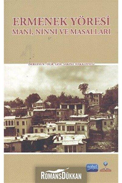 Nobel Akademik Yayıncılık Ermenek Yöresi & Mani, Ninni Ve Masalları