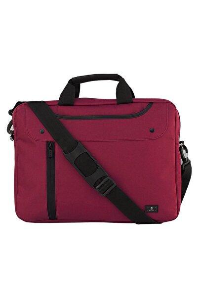 """Beutel 15.6"""" Bordo Unisex Evrak Notebook Laptop Çantası"""