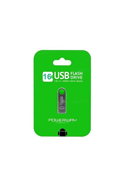 POWERWAY Usb Mini Flash Bellek 16 Gb 2.0 Pw-16gb