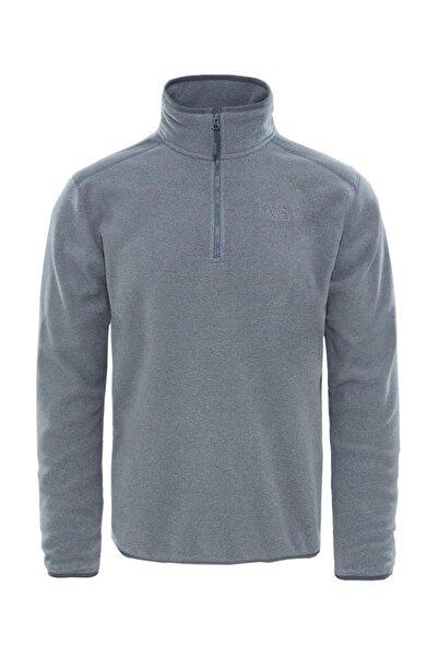THE NORTH FACE Erkek Gri 100 Glacier Sweatshirt