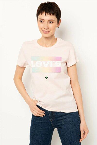 Levi's Kadın Pembe The Perfect T-shirt 17369-0832