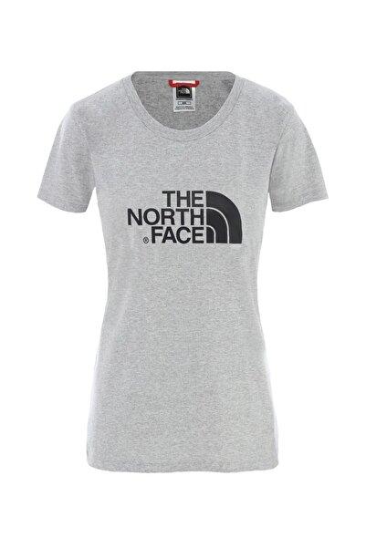 THE NORTH FACE Kadın Gri Kısa Kol Tişört - Eu Nf00c256qg71