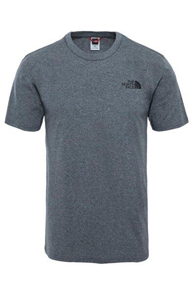 THE NORTH FACE M S/S SIMPLE DOME TEE Açık Gri Erkek T-Shirt 100480888