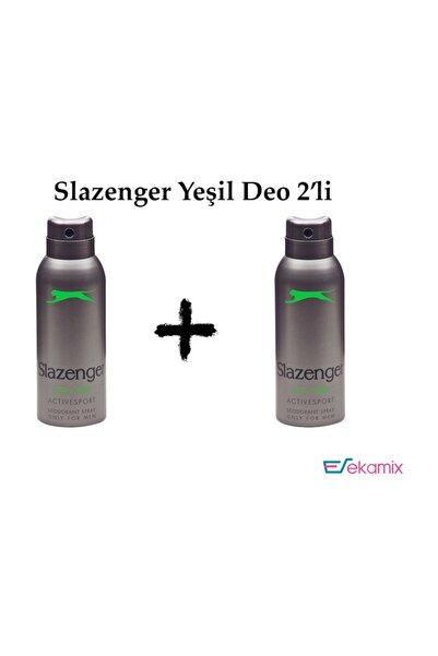Slazenger Yeşil Deo 150 Ml 2 Adet
