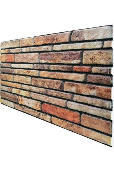 Pandekor 5 Adet X Kesme Taş Desenli 3 Boyutlu Renkli Strafor Köpük Duvar Kaplama Paneli (ks-401)