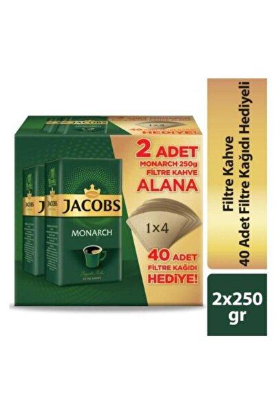 Jacobs Filtre Kahve 250 Gr X 2 + 40 Adet Filtre Kağıdı Hediyeli