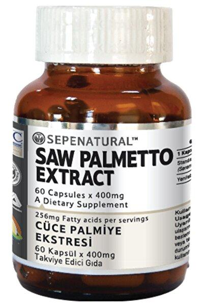 Sepe Natural Saw Palmetto Extract 60 Kapsül 400 Mg Ekstrakt Ekstresi