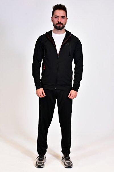 Lotto Eşofman Takımı Erkek Siyah-sıon Suıt Pl-r9666