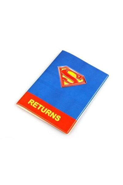 Hibrit Shop Pasaport Cüzdanı Superman