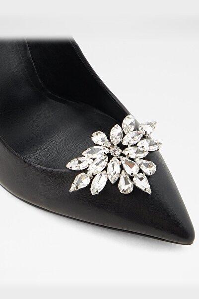 Aldo Kadın Gümüş Belver Taşlı Ayakkabı Aksesuarı