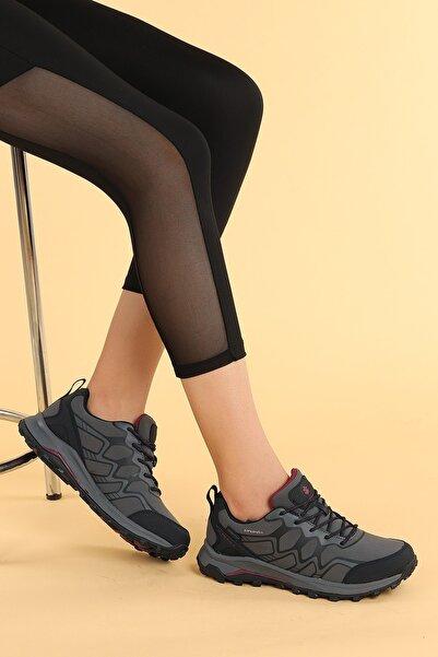 lumberjack Kadın Gri Spor Bot Ayakkabı