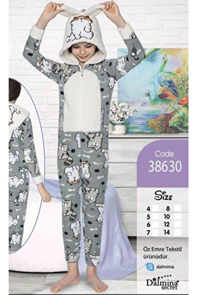 Fancy Tulum Çocuk Polar Pijama Takımı Kız Çocuk