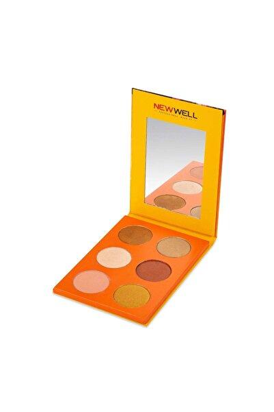 New Well Autumn Eyeshadow Palette - 04 8680923332192