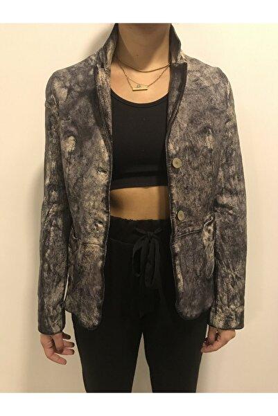 ASUS Kadın Lacivert Ceket