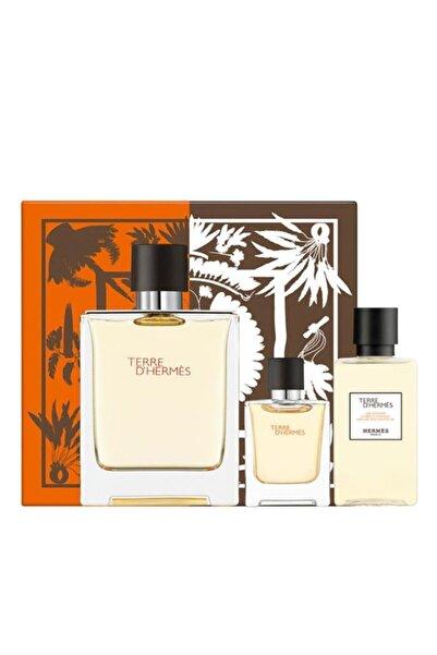 Hermes Terre D Edt 100 ml Erkek Parfüm Seti 3346131433278