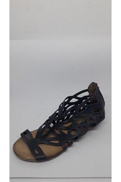 Mammamia Kadın Lacivert  Sandalet