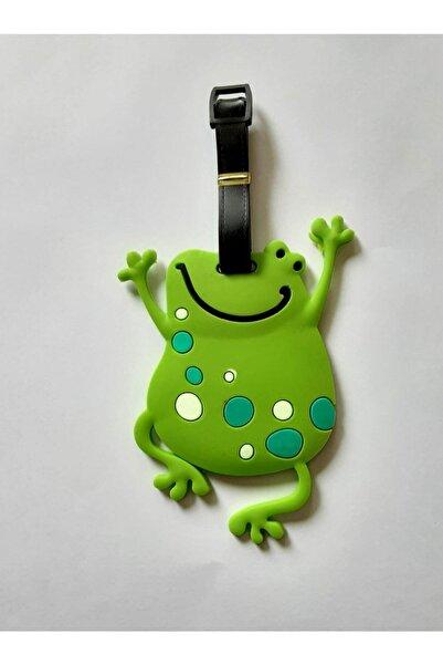 MAYA ArtDeco Çanta Valiz Etikeyi Kurbağa 16 cm