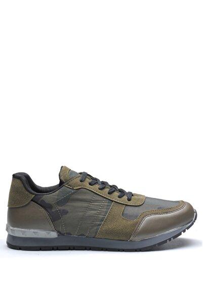 Bulldozer Erkek Haki Deri Casual Ayakkabı 190470