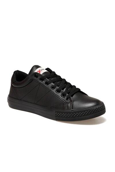 Kinetix Arlo Pu Siyah Erkek Kalın Tabanlı Sneaker