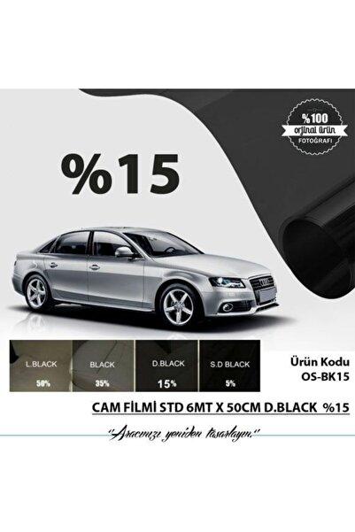 Oscar Cam Filmi Normal 6mt X 50cm D.black %15