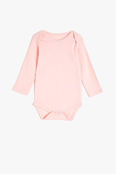 Koton Kids Pembe Kız Bebek Bebek Body & Zıbın