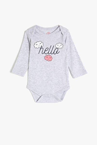 Koton Kids Kar Melanj Kız Bebek Bebek Body & Zıbın