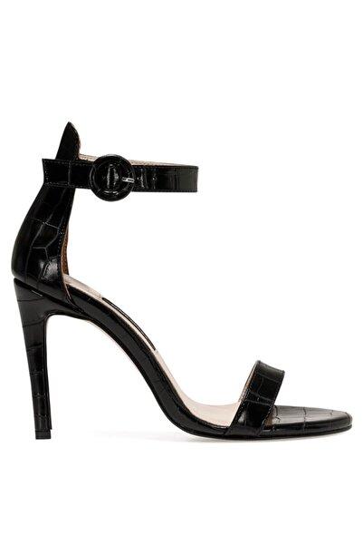 Nine West Lındıt Siyah Kadın Topuklu Sandalet