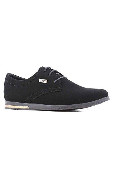 CONTEYNER Erkek Siyah Nubuk Süet Günlük Ayakkabı