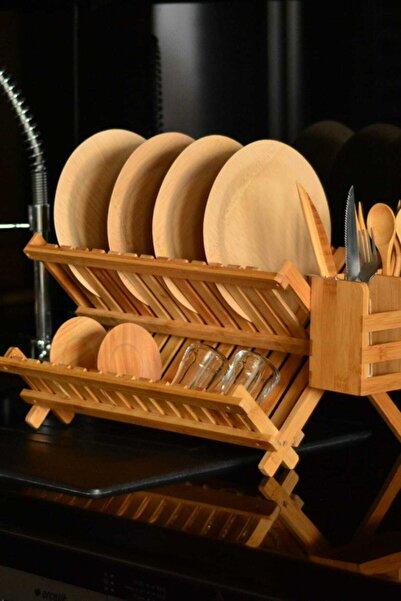 Bambum Enda - Kaşıklıklı Bulaşık Sepeti B0273