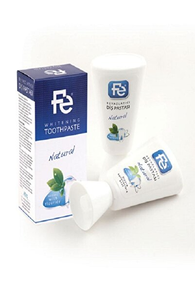 Fe Beyazlatıcı Diş Pastası Natural Herbal
