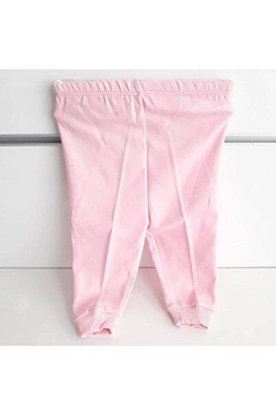 bebegen Sade Pembe Tek Alt Bebek Penye Pantolon