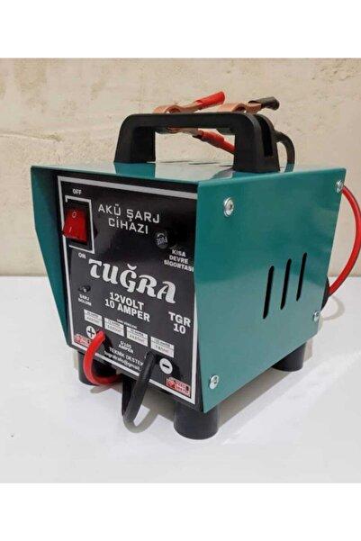 Tuğra 12 Volt 10 Amper Akü Şarj Cihazı Yerli Üretim