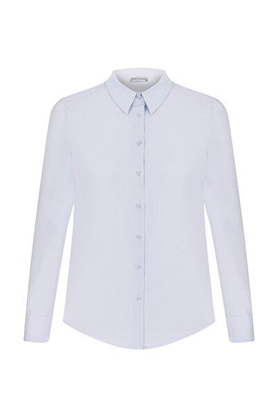 Mudo Kadın Mavi Gömlek 1220308