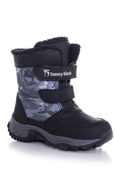 Tonny Black Siyah Çocuk Trekkıng Bot Tbsrk
